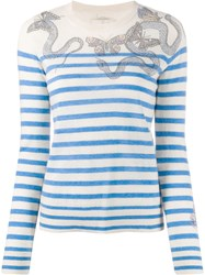 Zadig And Voltaire Miss Embellished Mariner Jumper 60