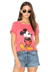 Junk Food Mickey Mouse Tee Red