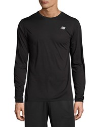 New Balance Accelerate Long Sleeved Performance Top Black