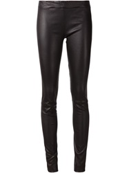 The Row Biker Leggings Black