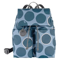 Radley Spot On Fabric Backpack Green