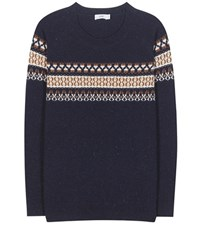 Closed Wool Sweater Blue