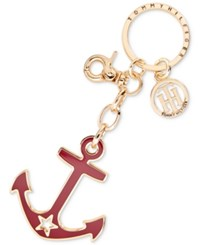 Tommy Hilfiger Anchor Key Ring Fob Tommy Red