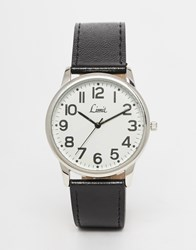 Limit Watch In Black Black