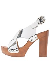 Refresh High Heeled Sandals Silver