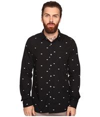 Tavik Porter Long Sleeve Duo Print Black Duo Men's Long Sleeve Pullover