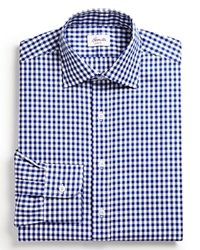 Hamilton Exploded Gingham Check Oxford Dress Shirt Classic Fit Bloomingdale's Exclusive