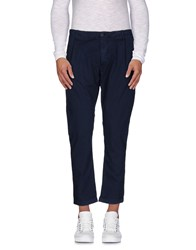 Individual Trousers Casual Trousers Men Dark Blue