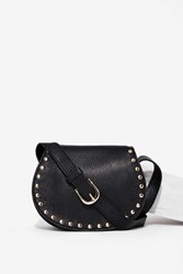 Nasty Gal B Low The Belt Kelly Leather Crossbody Bag