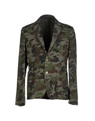 Jeordie's Suits And Jackets Blazers Men Military Green