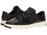 Cole Haan Grandpro Tennis Black Snake Print Women's Lace Up Casual Shoes