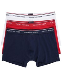 Tommy Hilfiger 3 Pack Red White Blue Boxer Shorts