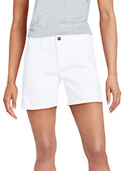 Frame Denim Jean Shorts White