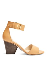 Paul Andrew Tindra Leather Sandals Light Tan