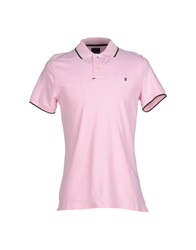 Jaggy Polo Shirts Dove Grey