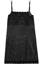 Commando Stretch Lace Chemise