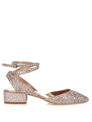 Jimmy Choo Vicky 30Mm Glitter Pumps Pink