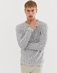 Only And Sons Knitted Jumper In Grey