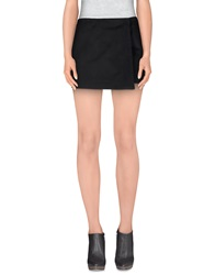 New York Industrie Mini Skirts Black