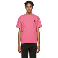 Kenzo Pink Classic Tiger T Shirt
