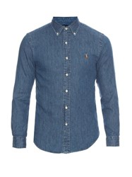 Polo Ralph Lauren Slim Fit Long Sleeved Denim Shirt