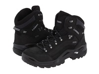 Lowa Renegade Gtx Mid Black Black Men's Hiking Boots
