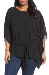 Michael Michael Kors Plus Size Women's Belted Chiffon Tunic
