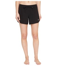 Hurley Phantom Solid 5 Boardshorts Black Women's Swimwear