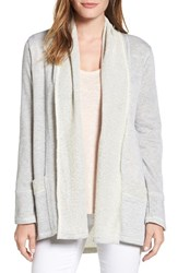 Caslonr Women's Caslon French Terry Cardigan Heather Grey