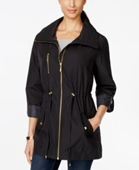 Jm Collection Roll Tab Sleeve Anorak Jacket Only At Macy's