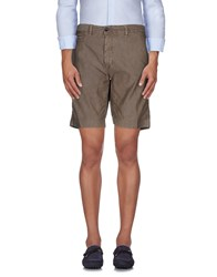 Myths Trousers Bermuda Shorts Men Khaki