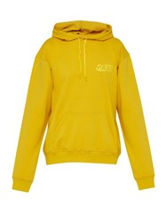 P.A.M. Gesters Hooded Cotton Sweatshirt Gold