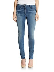 3X1 Channel High Rise Skinny Jeans Sailor