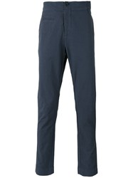 Hannes Roether Straight Fit Chinos Black