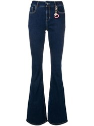 Twin Set Flared Jeans Blue