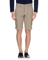 Aspesi Trousers Bermuda Shorts Men Beige