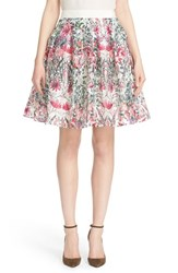 Women's Ted Baker London 'Sadah' Floral Print A Line Skirt