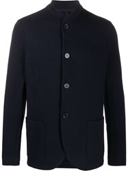 Harris Wharf London Button Down Fitted Jacket 60