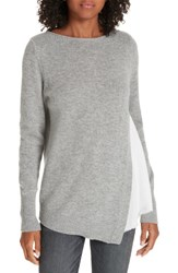Brochu Walker Wool And Cashmere Layered Sweater