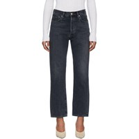Gold Sign Goldsign Black The Relaxed Straight Jeans