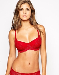 The Intimate Collection By Britney Spears Cherry Full Shaper Bra Winterred