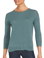Inhabit Cashmere Long Sleeve Sweater Ink