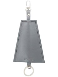 Christophe Lemaire Triangle Tag Keyring Grey