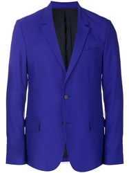 Ami Alexandre Mattiussi Two Buttons Lined Jacket Pink And Purple