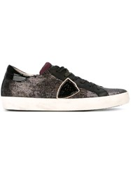Philippe Model Sequin Sneakers Black