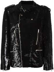 Ashish Biker Jacket Black