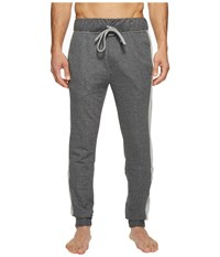 Kenneth Cole Reaction French Terry Pants Dark Heather Grey Men's Pajama Gray