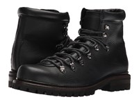 Frye Wyoming Hiker Black Wp Waxed Pebbled Leather Soft Vintage Leather Men's Lace Up Boots Brown