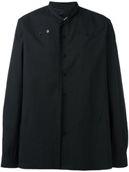Raf Simons Strap Detail Shirt Black