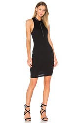 Bella Luxx High Neck Tank Dress Black